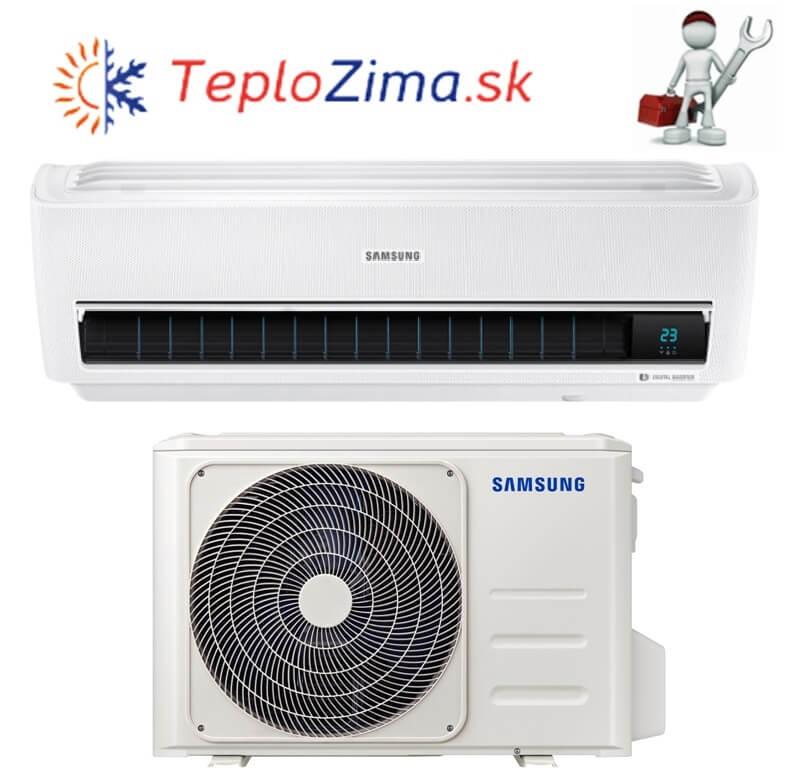 Samsung Wind Free ESSENTIAL 2,5kW R32 AR09NXWXBWKNEU s montážou