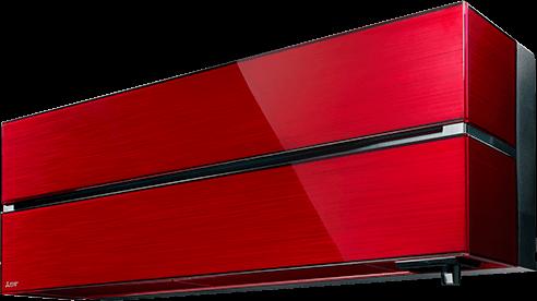 Mitsubishi -Diamond Rubínovo červená 3,5kW s montážou