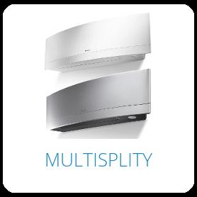 Klimatizácia multisplit - Daikin, Lg, Toshiba