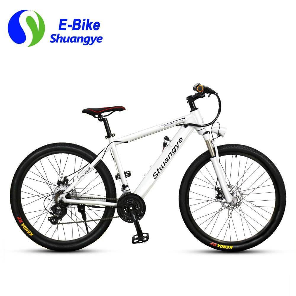 Elektický horský celoodpružený bicykel A6AH27.5HS
