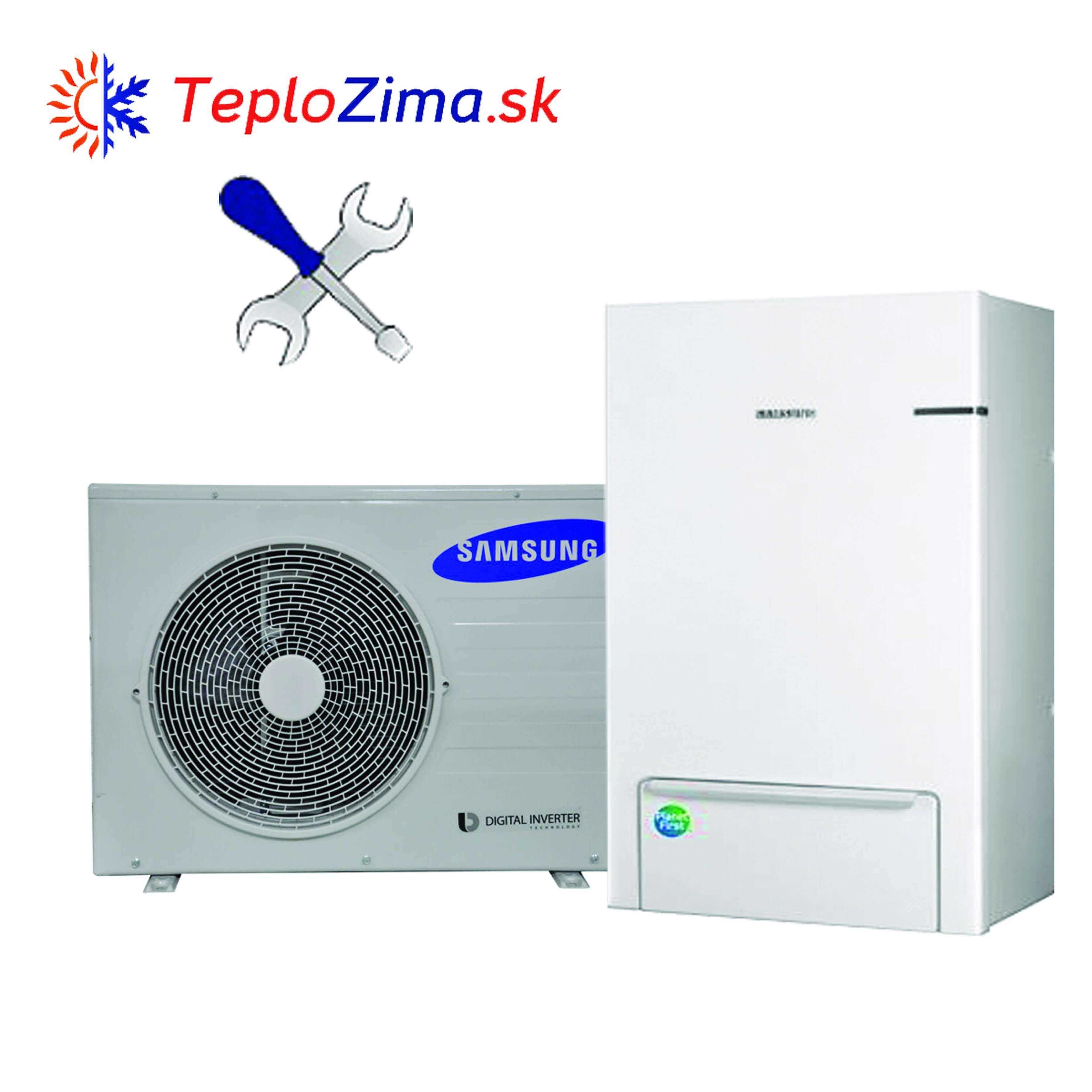 Tepelné čerpadlo Samsung s montážou hydrobox 9kw + split 6kW