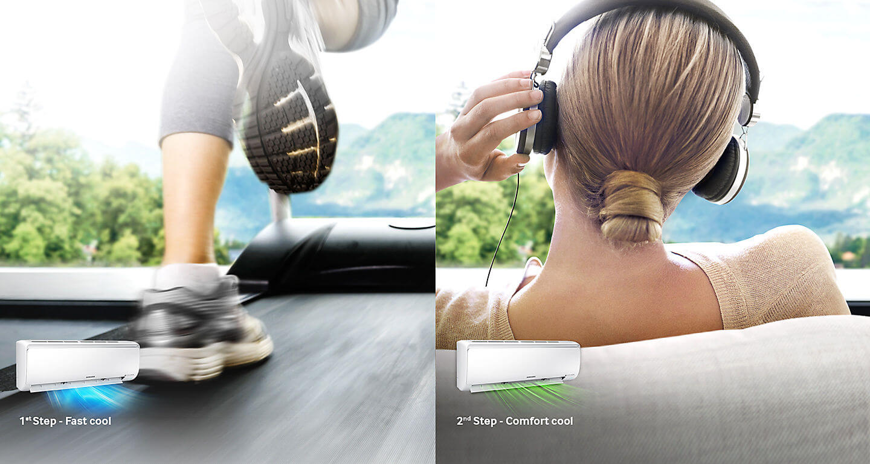 Samsung AR4500 - comfort cool