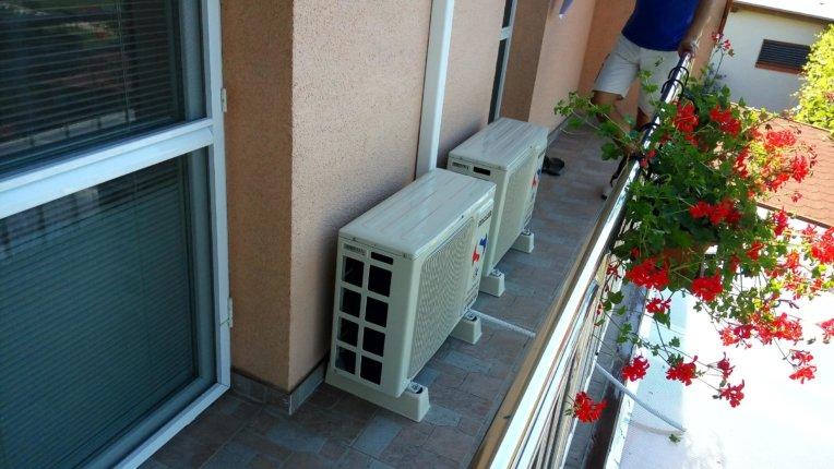 povolenie na montáž klimatizácie - kam umiestniť klimatizáciu