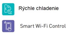 samsung rýchle chladenie, wifi