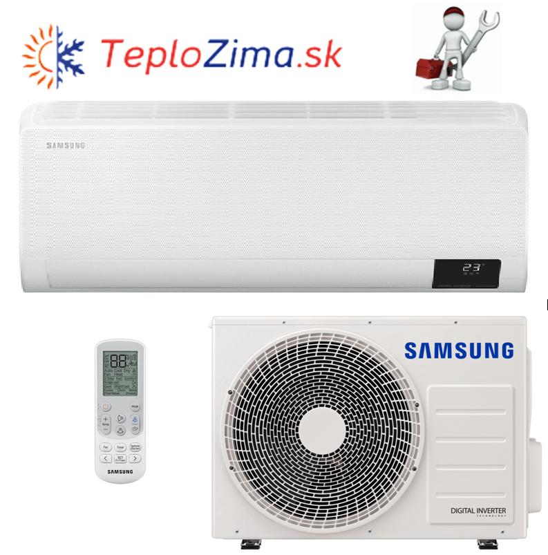 Samsung Wind Free Comfort 3,5 kW (AR12TXFCAWKNEU + AR12TXFCAWKXEU)  s montážou